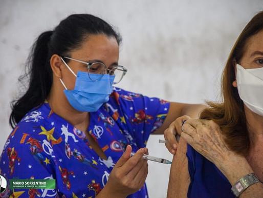 Campanha intensiva de aplicação da 2ª dose da Coronavac em João Pessoa recebe elogio por organização