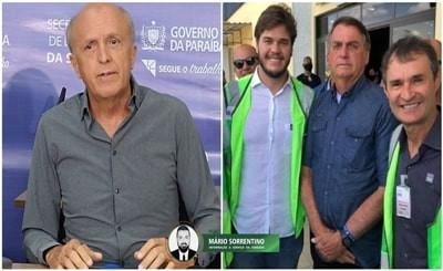 Secretário de Saúde critica Bolsonaro por não usar máscara em visita à Paraíba