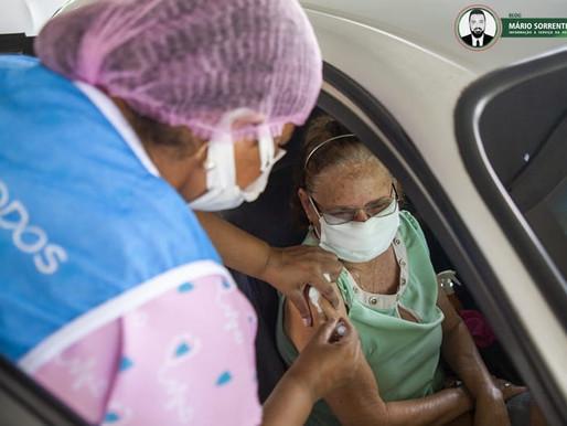 João Pessoa reforça imunização de quem tomou a Coronovac até 2 de abril e quem completou 90 dias...