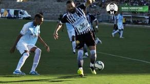 CSP faz gol no último lance do jogo e empata com o Botafogo-PB
