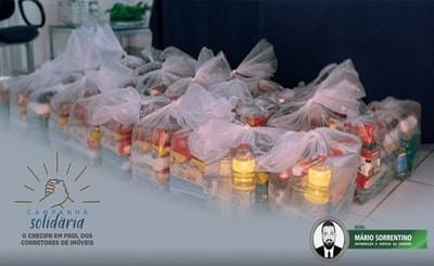 Aproximadamente 200 corretores de imóveis já foram contemplados com cestas básicas pelo CRECI-PB
