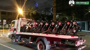 """""""Rolezinho"""" na orla de João Pessoa termina com nove motos apreendidas"""