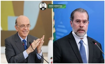 Toffoli suspende investigações da Lava Jato sobre José Serra