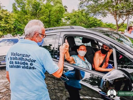 João Pessoa inicia vacinação de pessoas com comorbidades acima de 50 anos, nesta sexta (30)