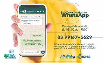 Prefeitura de Alhandra investe em novos canais de atendimento para enfrentar o novo Coronavírus