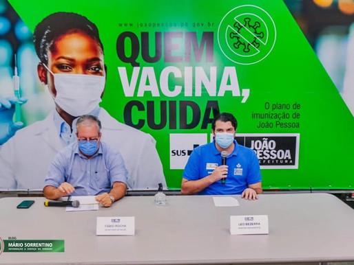 Prefeitura tranquiliza população sobre segunda dose e aguarda chegada de nova remessa de vacinas