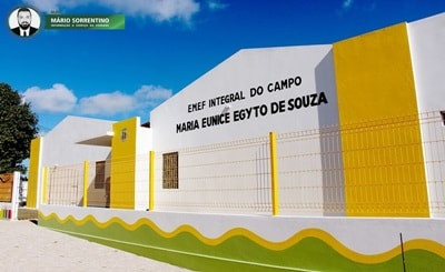 Prefeita Márcia Lucena inaugura Escola Integral do Campo em Conde