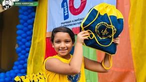 Campanha da LBV em prol da educação, apoia alunos em vulnerabilidade social na Paraíba