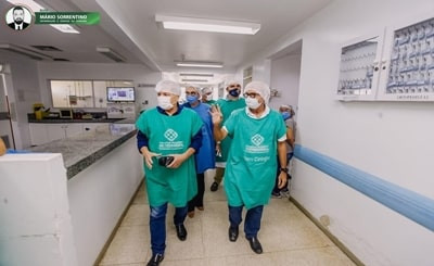 Cícero Lucena anuncia ação para recuperar os serviços do Trauminha de João Pessoa