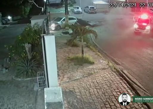 Vídeo: PM frustra tentativa de sequestro e prende suspeito após perseguição e troca de tiros em JP