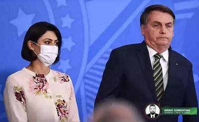 Michelle Bolsonaro testa positivo para Covid-19, informa Planalto