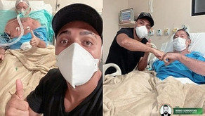 Morre 'Seu Leôncio', sogro do humorista Tirulipa após quase um mês internado