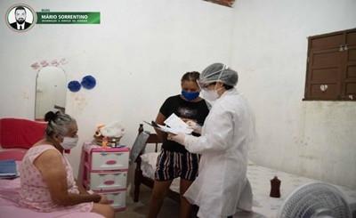 Em Alhandra, pacientes com sintomas do coronovírus recebem visitas domiciliares de profissionais...