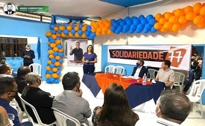 Em convenção, Solidariedade oficializa apoio a Ana Cláudia candidata a prefeita de Campina Grand...