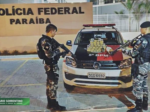 Polícia Militar prende suspeito de tráfico com mais de 25 kg de drogas em João Pessoa