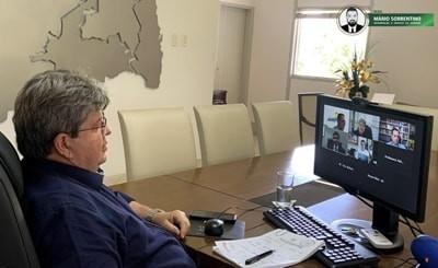 João Azevêdo e demais governadores do Nordeste pedem ao governo federal prioridade na vacinação...