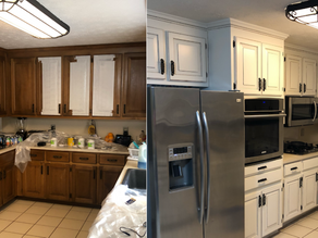 Repaint Your Old Cabinets Instead of Getting New