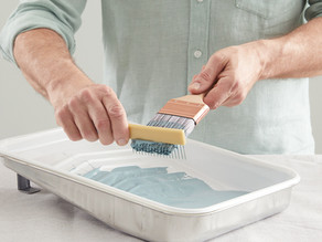 How To Efficiently Store Paint Brushes and Rollers