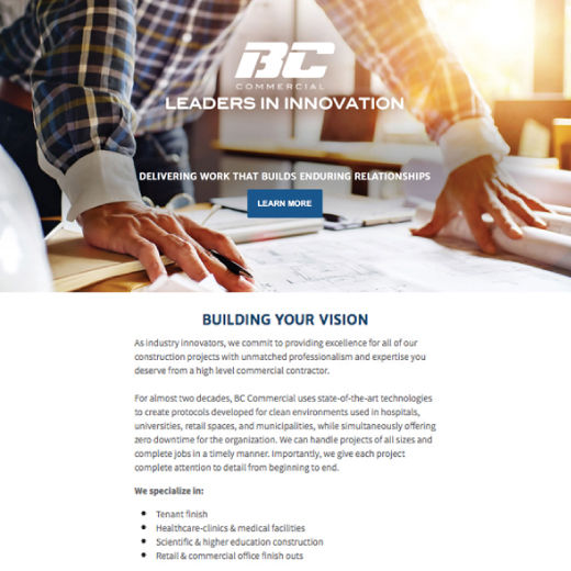 BC Commercial Email Campaign
