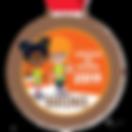 Digitale schoolpoortmedaille Brons 2019.