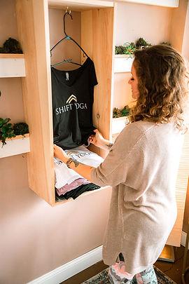 shift yoga apparel laurel md