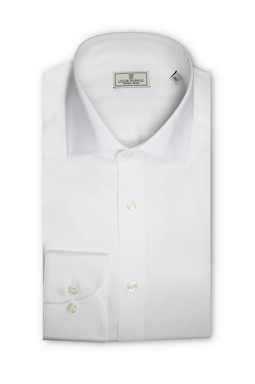 White Twill Business Shirt
