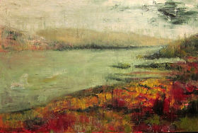 zoe-durand-still-lake-61cmx91cm-oil-on-c