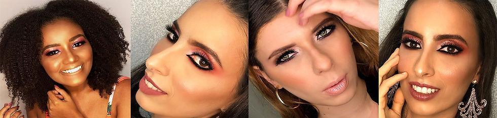 Maquiagem Clarane Medeiros Makeup