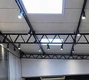 telhado com iluminação natural