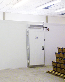 Porta para câmara frigorífica