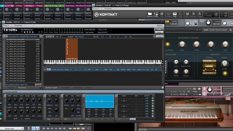 Three plugins I've been having fun with...