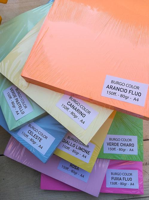 Carta colorata basic burgo color 80 gr