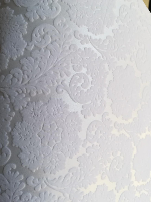 Flocked Paper - Bianco Candido