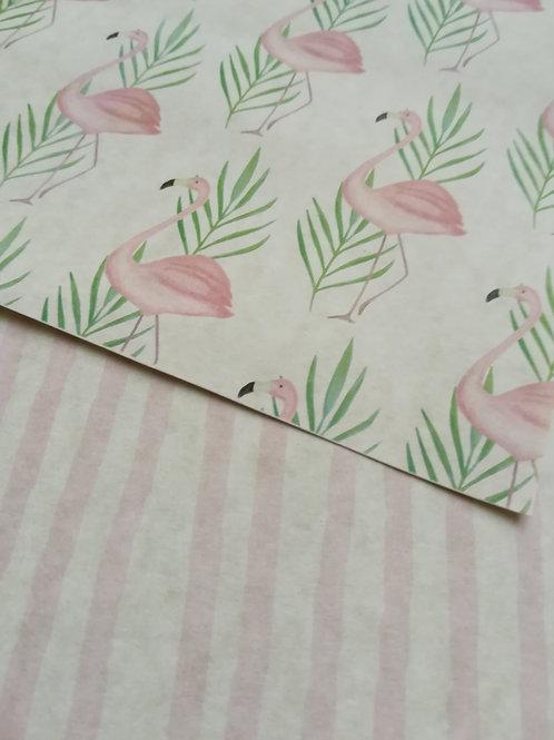 Flamingo - Carta Scrap 180gr