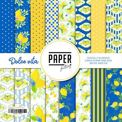 """Pad """"Dolce Vita"""" Nature collection 31x31cm - 16 fogli/16 design one side"""