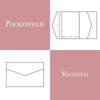 Pocketfold modello Magnolia 50 pz.