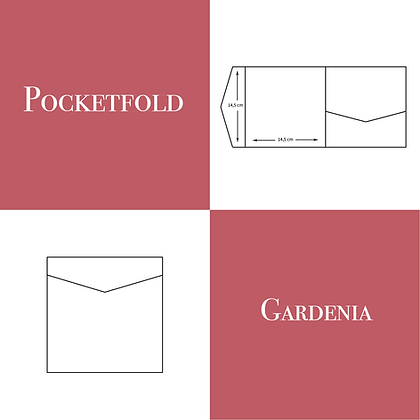 Pocketfold modello Gardenia 50 pz.