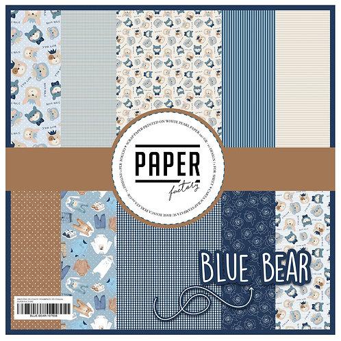 """Pad """"Blue Bear"""" 10 fogli 30 x 30 cm"""