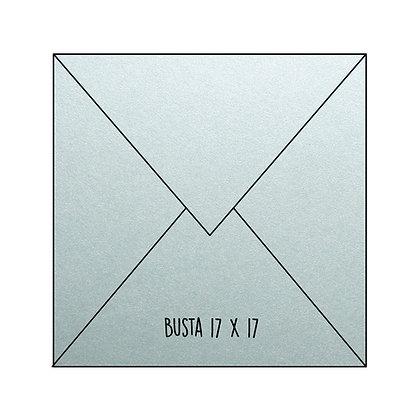 Busta Stardream Acquamarine 17x17