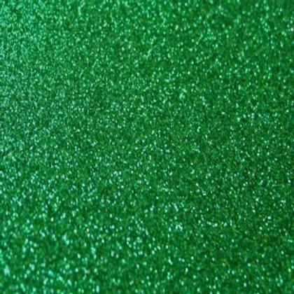 Glitter Xmas Green - A4 220gr