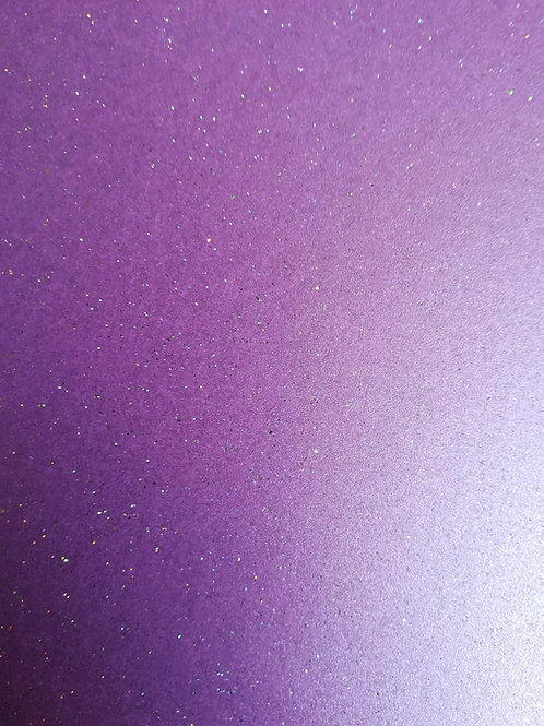 Soft Glitter Periwinkle - A4 290gr