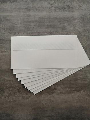 Busta Conqueror Smooth 11x22 cm - High White