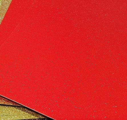 Soft Glitter Rosso - A3 220gr