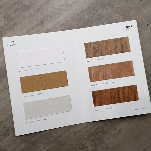 Campionario Carte Effetto LEGNO Paper Factory - wood grain papers
