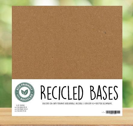 Kit Recicled Bases 18 fogli 30x30cm