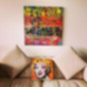 Marilyn Monroe (pop art Warhol inspiration)