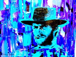 Blue Smoke print