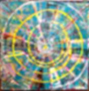 Round The Clock Tony Seker painting
