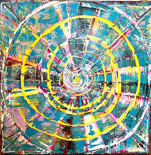 Round The Clock Tony Seker painting