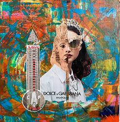 Gabanna Fever (Covid fundraiser) Tony Seker painting